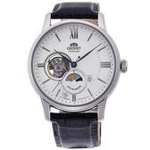 【時間光廊】ORIENT 日本東方錶 日月星辰 立體層次面板 自動上練 機械錶 全新原廠公司貨 RA-AS0005S