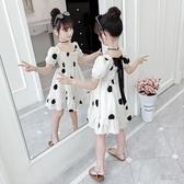 女童洋裝 女童連身裙夏裝2020新款兒童網紅超洋氣公主裙大童裝小女孩裙子潮