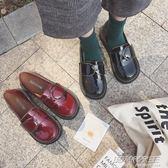 大頭鞋女韓版學生原宿風ulzzang小皮鞋日繫軟妹方扣娃娃單鞋百搭     時尚教主