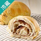 【香醇柔軟】軟式歐包系列-北海道紅豆牛奶2個【愛買冷藏】