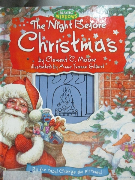 【書寶二手書T6/兒童文學_JLS】The Night Before Christmas_Moore, Clement Clarke