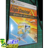 [106美國直購] 二手良品 Microsoft FLIGHT SIMULATOR X 10 GOLD EDITION -Acceleration Expansion Pack PC DVD