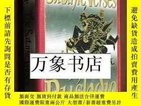 二手書博民逛書店Salman罕見Rushdie : The Satanic Verses 原版精裝本帶封套 私藏品好Y2727