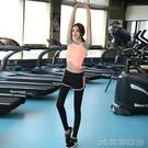瑜珈服 夏天網紅瑜伽服運動套裝女速乾衣健身房瑜珈晨跑步薄款高端時尚
