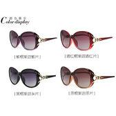 太陽眼鏡 偏光太陽鏡女潮墨鏡女時尚優雅太陽眼鏡 台北日光