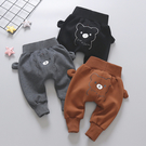 嬰兒秋冬季褲子2019新款冬裝男童加絨大PP女寶寶長褲兒童洋氣童裝