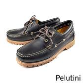 【Pelutini】雷根底帆船鞋 深咖(6735-DBR)