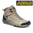 ASOLO 女款GTX 中筒越野疾行健走鞋 GRID GV MID A40517/A900 / 城市綠洲 (防水透氣、輕便、黃金大底、休閒)