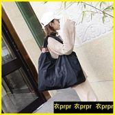 旅行袋 大容量防水簡約尼龍布單肩包