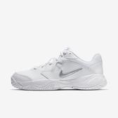 Nike WMNS Court Lite 2 [AR8838-101] 女鞋 耐磨 包覆 避震 支撐 皮革 休閒 白銀