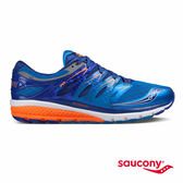 SAUCONY ZEALOT ISO 2 緩衝避震專業訓練鞋款-藍x橘