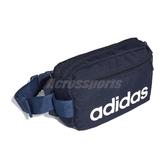 adidas 腰包 Linear Core Waist Bag 藍 白 男女款 斜背包 運動休閒 【ACS】 FM6740
