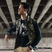 BIG TRAIN 和風舞雲龍羅紋束口長袖T-男