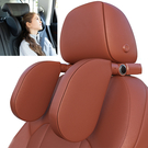 新款多功能側靠汽車頭枕車載香薰手機支架隱藏掛鉤內飾用品護頸枕車用精品