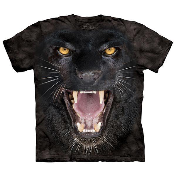 【摩達客】(預購)美國進口The Mountain 黑豹鬥士 純棉環保短袖T恤(10415045039)