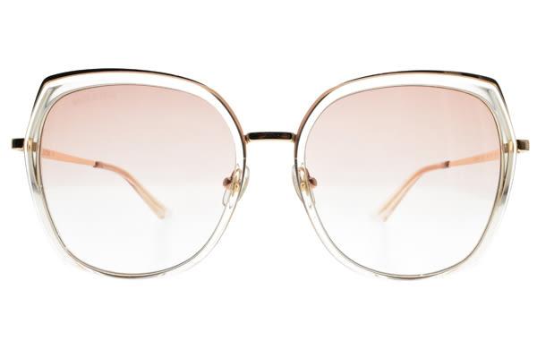 MOLSION 太陽眼鏡 MS6061 B21 (透明玫瑰金-漸層粉鏡片) Angelababy代言摩登款 偏光墨鏡 #金橘眼鏡