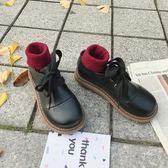 軟妹小皮鞋女韓版百搭復古學院風大頭娃娃鞋