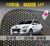 【鑽石紋】14年後 Luxgen U7 五人座 腳踏墊 / 台灣製造 工廠直營 / u7海馬腳踏墊 u7腳踏墊 u7踏墊