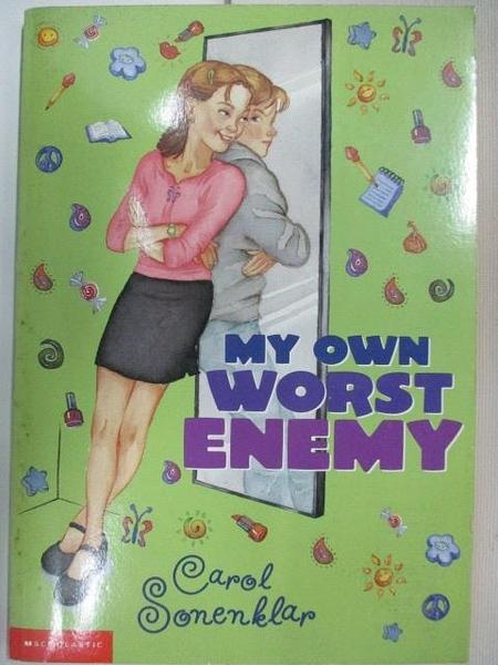 【書寶二手書T9/原文小說_AZP】My Own Worst Enemy
