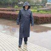 雨衣成人男女韓國時尚徒步雨披加大加厚防水衣全身戶外防水衣套裝【交換禮物免運】