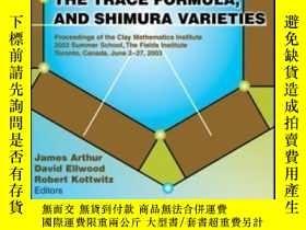 二手書博民逛書店Harmonic罕見Analysis, The Trace Formula And Shimura Varieti