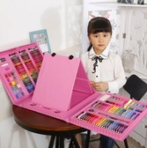 F兒童水彩筆套裝幼兒園畫畫筆美術用品繪畫小學生畫畫工具蠟筆