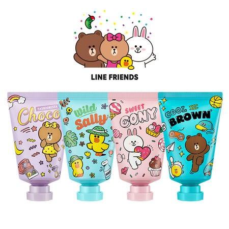 韓國 MISSHA x LINE 聯名款護手霜 30ml 護手霜 護手乳液 護手乳 熊大 兔兔 莎莉 熊美 熊大妹