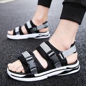 新品 新款 夏季  涼鞋男士休閒 沙灘鞋潮流一字涼拖鞋 外穿 拖鞋【熱銷88折】
