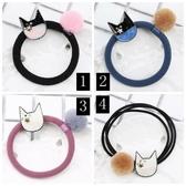 貓咪頭頭+球球造型 髮束-170101-pipima