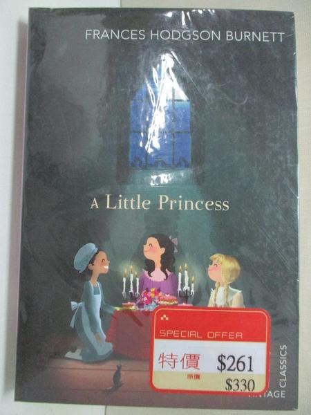 【書寶二手書T1/少年童書_AS8】A Little Princess_Frances Hodgson Burnett