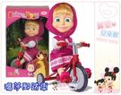 麗嬰兒童玩具館~俄國最受歡迎卡通-瑪莎與熊 Masha and The Bear 瑪莎腳踏車