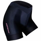 【亞特力士ATLAS】女透氣網三分車褲 30℃~38℃ (六代) WS-920-B (黑)