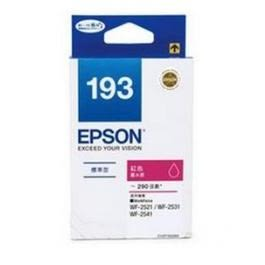 EPSON NO.193 T193350 標準型紅色墨水匣