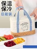 便當包 便當袋手提包保溫袋加厚午餐鋁箔便當包保熱便攜飯盒袋帶飯手提包  伊蘿