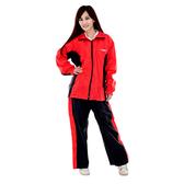 【東門城】M2R M7(黑紅) 兩件式雨衣 反光設計