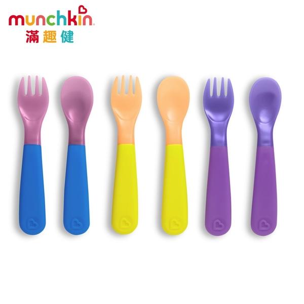 munchkin滿趣健-冷熱感溫安全湯叉6入
