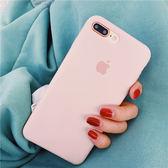 液態硅膠手機殼iPhoneX蘋果6s/8/7plus防摔軟殼超火純色簡約女 創想數位