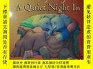 二手書博民逛書店a罕見quiet night inY352948 jill murphy walker 出版1993