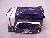 「野球魂中壢店」--特價!「SA」個人裝備袋(EQ-1,側袋型,深藍×白色)
