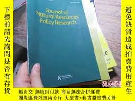 二手書博民逛書店journal罕見of natural resources po