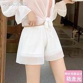 襯褲安全褲防走光女薄款蕾絲可內外穿不捲邊學生寬鬆夏季防狼褲打底褲 快速出貨