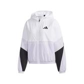 adidas 外套 WB Color Jacket 白 紫 女款 風衣外套 張鈞甯款 運動休閒 【PUMP306】 FM9322