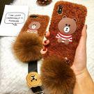【SZ25】iPhoneX手機殼 泰迪熊...