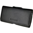 真皮系列 Sony Xperia Z1 (C6902) 腰夾式/穿帶式 橫式手機皮套