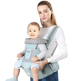 嬰兒背帶腰凳前抱式多功能輕便寶寶兒童坐凳四季抱娃神器前後兩用 蘿莉小腳丫
