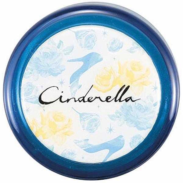 Pearl 細身輕量保溫保冷不鏽鋼隨手瓶 300ml 迪士尼 灰姑娘 花朵 藍_PA42253