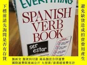 二手書博民逛書店The罕見Everything Spanish Verb Boo