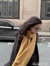 韓版純色針織毛線小圍巾女秋冬季保暖學生軟妹圍脖男 夢想生活家
