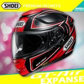 [中壢安信]日本 SHOEI GT-Air 彩繪 EXPANSE TC-1 黑紅 全罩 安全帽 內墨鏡