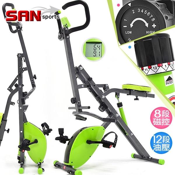 深蹲機+磁控健身車.2合1雙阻力騎馬機.健腹機健腹器.山司伯特.美腿機運動健身器材.推薦哪裡買ptt